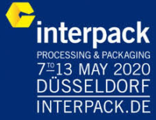 November 2019: Visit us at Interpack 2020